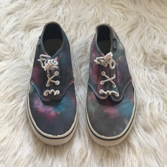 Vans Shoes   Galaxy Kids Size 3 In